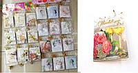 """Поздравительные карточки """"Свадебные'' 6,7x9,4 см, 120 шт\блистере"""