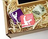 """Набор для взрослых """"Пикантный вечер"""": секс в конверте, кубики с позами, шоколадная камасутра, фото 8"""