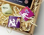 """Набор для взрослых """"Пикантный вечер"""": секс в конверте, кубики с позами, шоколадная камасутра, фото 3"""