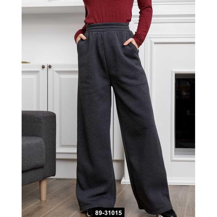 Спортивные штаны  12312  L темно-серый, L-S размер международный, 89-31015