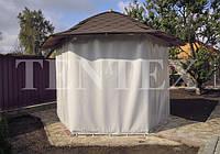 Изготовление защитных штор из полиэстера и ПВХ, фото 1