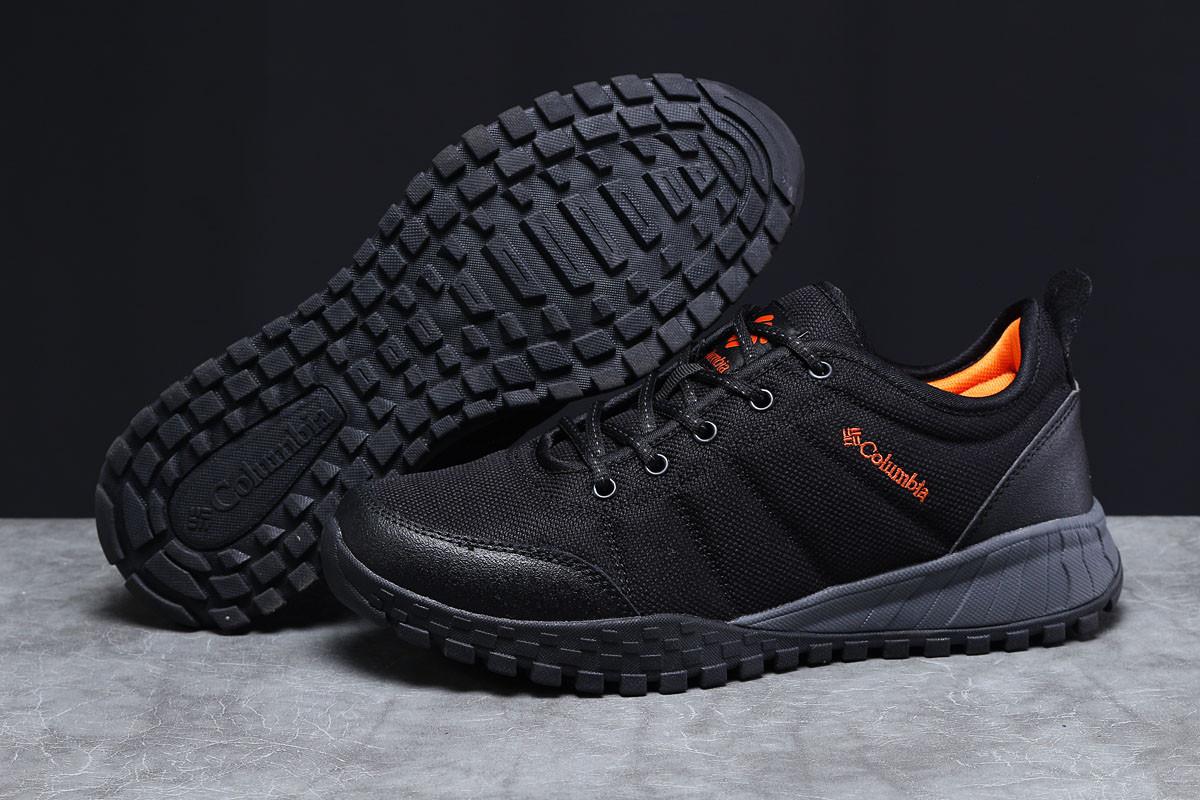 Стильные удобные красивые качественные кроссовки мужские Columbia, черные