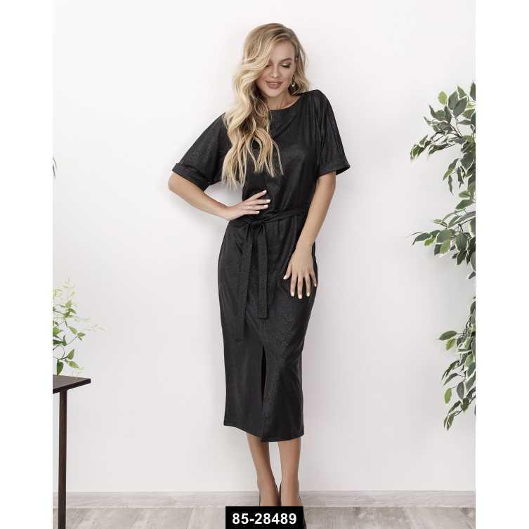 Платья  12159  XL черный, L-XL размер международный, 85-28489