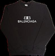 Теплый свитшот с начесом Balenciaga світшот чоловічий баленсиага