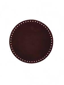 Дно 16 см круглое для сумки (кожа)