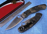 Нож складной Spyderco Military Camo