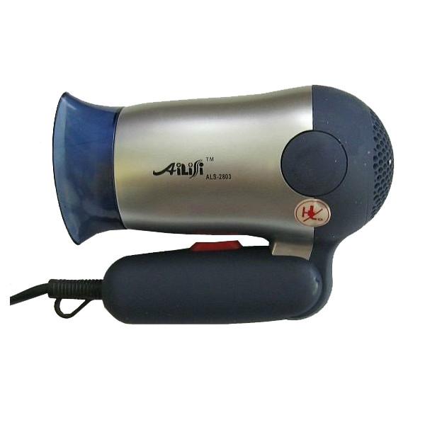 Фен AILISI ALS-2803 1000 Вт со складной ручкой