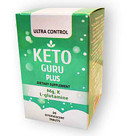 Keto Guru Plus - Шипучие таблетки для похудения (Кето Гуро Плюс)