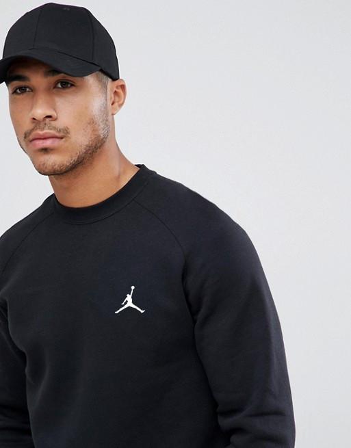 Мужская спортивная кофта свитшот, толстовка Jordan (Джордан) черная