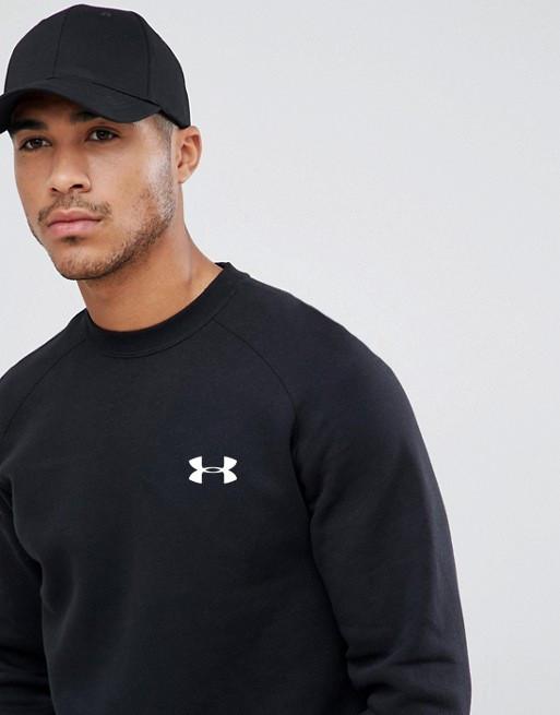 Чоловіча спортивна кофта світшот, толстовка Under Armour (Андер Армор) чорна