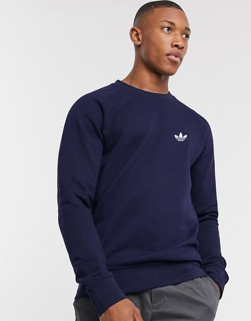 Мужская спортивная кофта свитшот, толстовка Adidas (Адидас) синяя