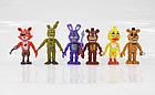 Игровой набор Five Nights at freddy's  6 героев 5 ночей з Фредди (Аниматроники Фнаф), фото 2