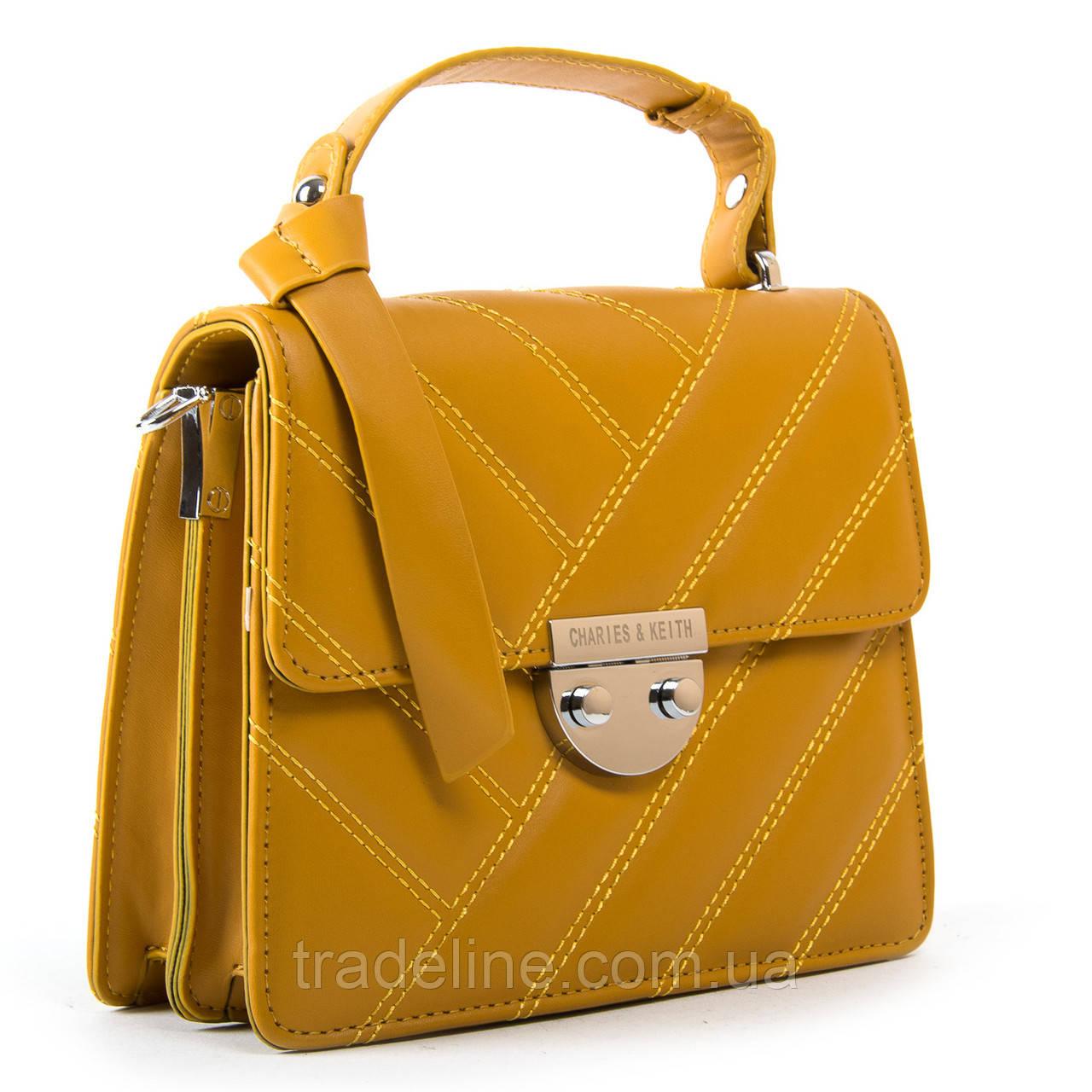 Сумка Жіноча Класична позов-шкіра FASHION 2-011 686 yellow