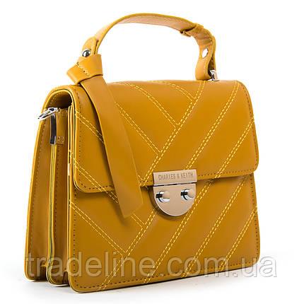 Сумка Жіноча Класична позов-шкіра FASHION 2-011 686 yellow, фото 2