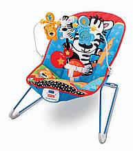 Крісло-гойдалка Веселі звірята Fisher Price прокат в Харкові
