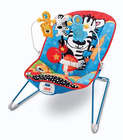 Кресло-качалка Веселые зверята Fisher Price   прокат в Харькове, фото 2