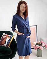 Бавовняний халат відмінної якості 2886, фото 1