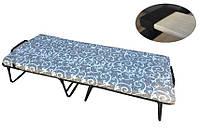 Раскладушка - кровать Ольга с пенополиуретановым матрасом