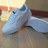 Женские кроссовки в стиле Puma Cali белые, фото 2