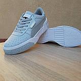 Женские кроссовки в стиле Puma Cali белые, фото 10
