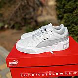 Женские кроссовки в стиле Puma Cali белые, фото 9