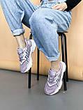 🔥 Кросівки жіночі Adidas Ozweego адідас озвиго бузкові повсякденні спортивні легкі, фото 4