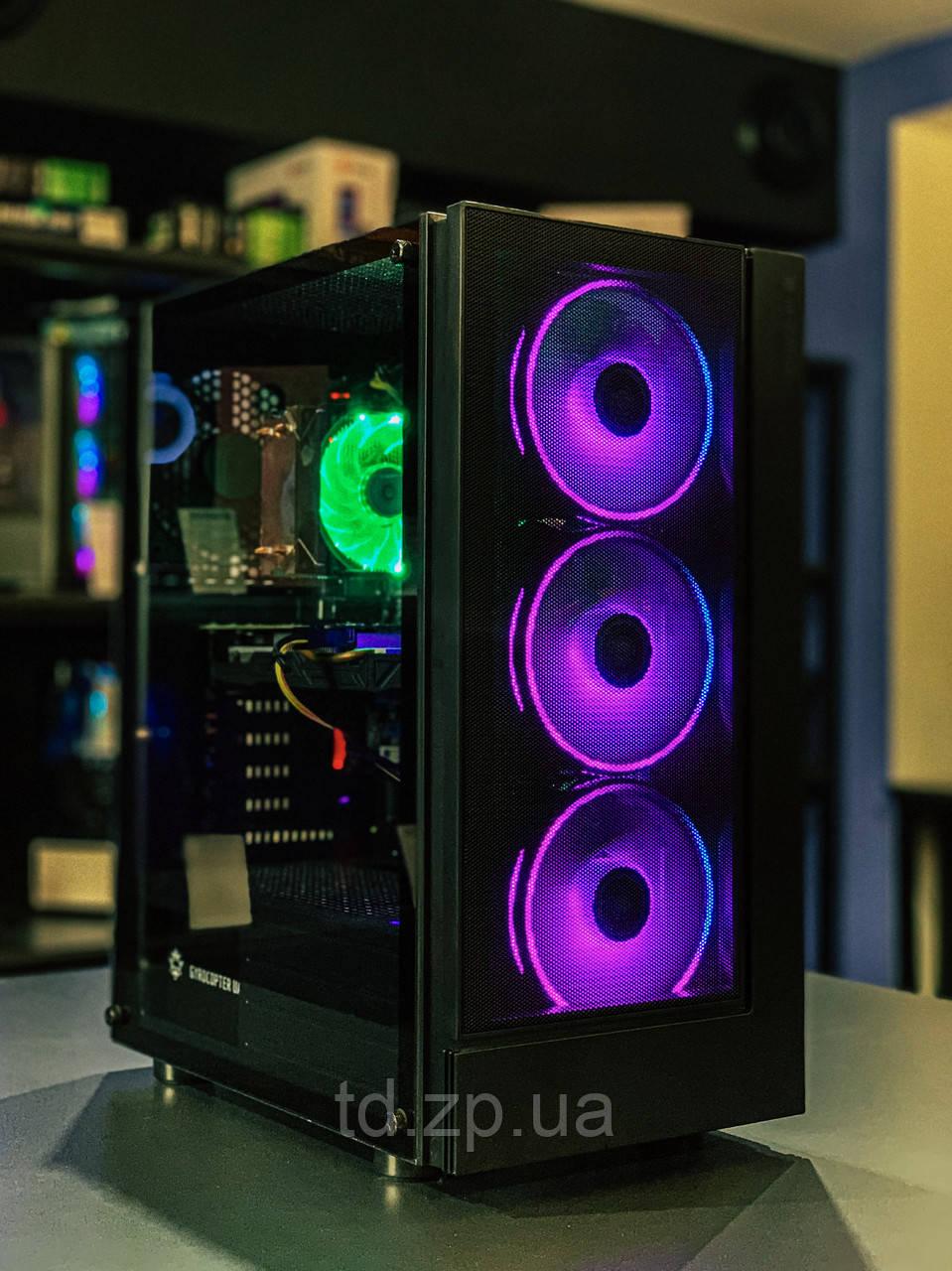 ИГРОВОЙ КОМПЬЮТЕР INTEL CORE I5-9400 + GTX 1660 SUPER 6GB + RAM 16GB + HDD 1000GB + SSD 120GB