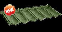 Композитная черепица QueenTile Classic (Квинтайл Классик). 1 тайловая.