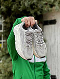 🔥 Кроссовки мужские Adidas Yeezy Boost 700 адидас изи буст 700 серые светлые повседневные спортивные легкие, фото 2