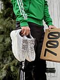 🔥 Кроссовки мужские Adidas Yeezy Boost 700 адидас изи буст 700 серые светлые повседневные спортивные легкие, фото 5