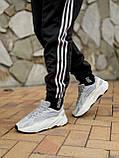 🔥 Кроссовки мужские Adidas Yeezy Boost 700 адидас изи буст 700 серые светлые повседневные спортивные легкие, фото 7