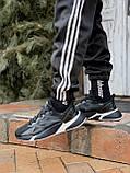 🔥 Кросівки чоловічі Adidas X9000L4 адідас чорні повсякденні спортивні легкі, фото 9