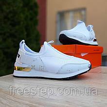 Жіночі кросівки в стилі Louis Vuitton білі
