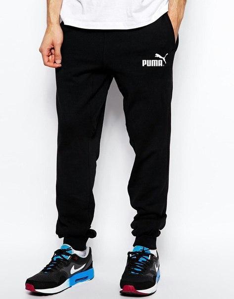 Чоловічі спортивні штани Puma (Пума) чорні