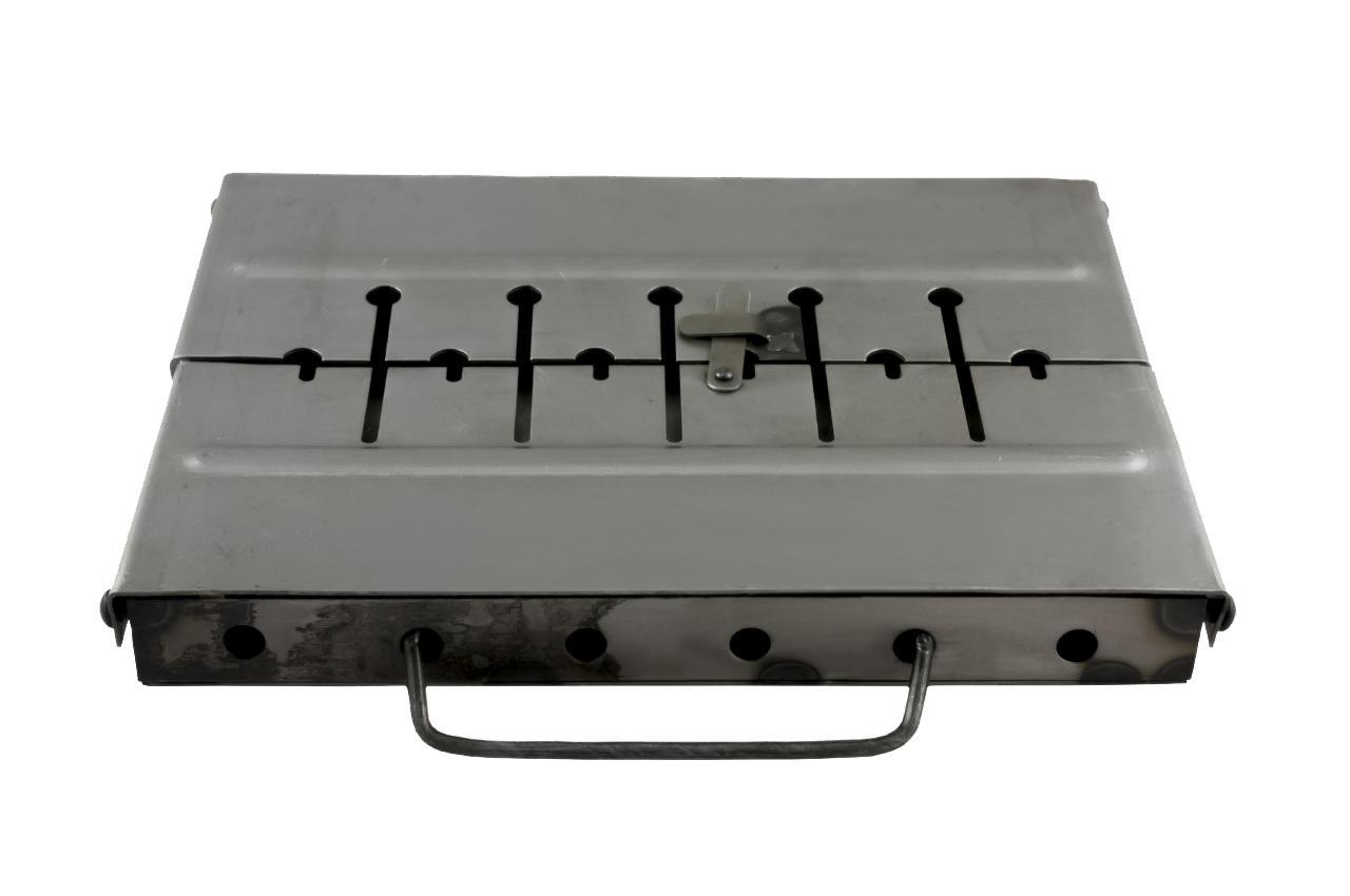 Мангал-чемодан ТМЗ - 6 шп. (1,5 мм), облегченный (1511)