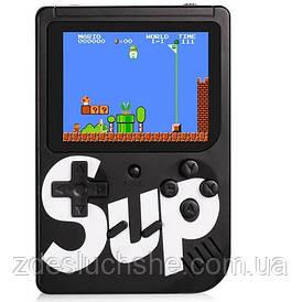 Ретро игровая приставка консоль Game Box sup 400 игр в 1 Black SKL11-276428