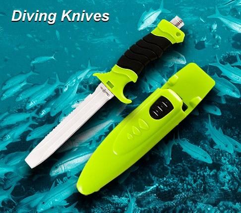 Ножи рыбацкие, для дайвинга