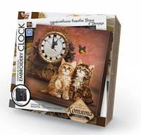 """Набор для творчества """"Embroidery clock"""" """"Котята"""""""