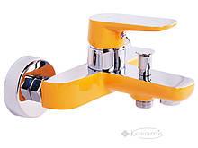 Смеситель для ванны и душа Venezia Kapadokya желтый (5010901-08)
