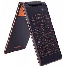 Мобильный телефон Lenovo A588t gold на Андроиде 2 сим