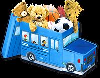 Детский пуф Автобус 550*260*310 мм