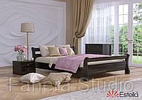 Ліжко двоспальна Діана з букового щита, фото 2