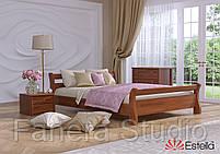 Ліжко двоспальна Діана з букового щита, фото 3