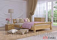 Ліжко двоспальна Діана з букового щита, фото 6