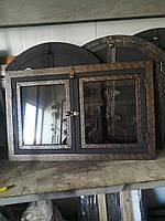 """Дверка для каміна«Грецька"""",любий розмір під замовлення, фото 1"""