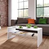 Журнальный столик с полкой, кофейный стол G0080, фото 2