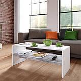 Журнальный столик с полкой, кофейный стол G0080, фото 3