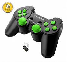 Геймпад Esperanza Gladiator Black/Green (EGG108G) USB