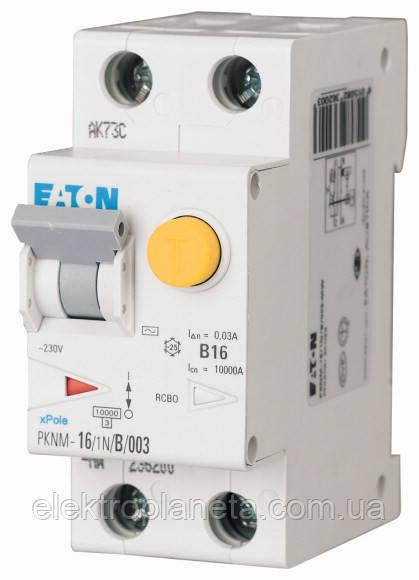 Диференциальные вимикачі EATON / MOELLER PFL6-25/1N/З/003