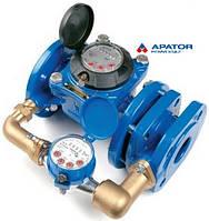 Счетчик холодной воды Apator Powogaz MWN/JS-65/2,5-S DN 65 комбинированный